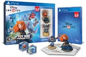 SONY Sony PlayStation 4 Game DISNEY INFINITY 2.0 STARTER KIT PS4