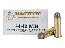MAGTECH Ammunition 44-40 WIN 225GR LEAD FLATNOSE