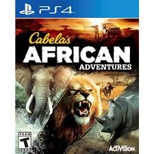 SONY Sony PlayStation 4 Game CABELA'S AFRICAN ADVENTURE PS4