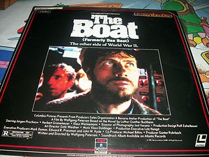 LASER DISC Laser Disk THE BOAT