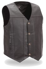 MODEL FMM611BSF, MEN'S BUFFALO NICKEL VEST WI DUAL SIDE INTERNAL CONCEALLED GUN