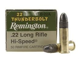 REMINGTON Ammunition .22 THUNDERBOLT 22 LONG RIFLE