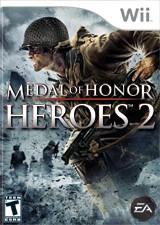 NINTENDO Wii Game MEDAL OF HONOR HEROES 2