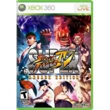 MICROSOFT Microsoft XBOX 360 Game SUPER STREET FIGHTER IV
