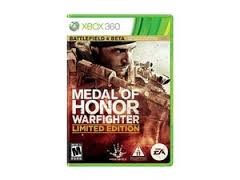 MICROSOFT Microsoft XBOX 360 Game MEDAL OF HONOR WARFIGHTER LIMITED EDITION