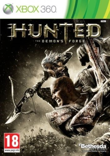 MICROSOFT Microsoft XBOX 360 Game HUNTED THE DEMONS FORGE