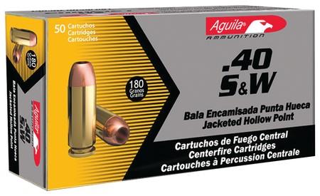 AGUILA AMMUNITION Ammunition .40 S&W 180GR (1E402110)
