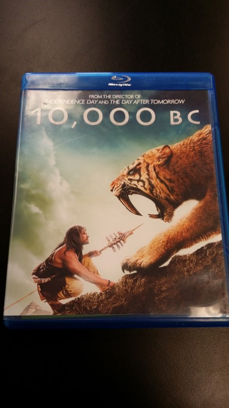 BLU-RAY MOVIE Blu-Ray 10,000 BC