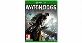 MICROSOFT XBOX ONE WATCH DOGS GAME