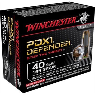 WINCHESTER Ammunition PDX1 165GR 40S&W