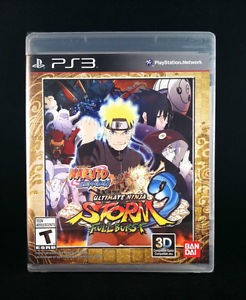 SONY Sony PlayStation 3 Game ULTIMATE NINJA STORM 3