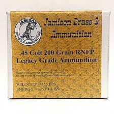 JAMISON BRASS & AMMUNITION Ammunition 45LC200LEG1115