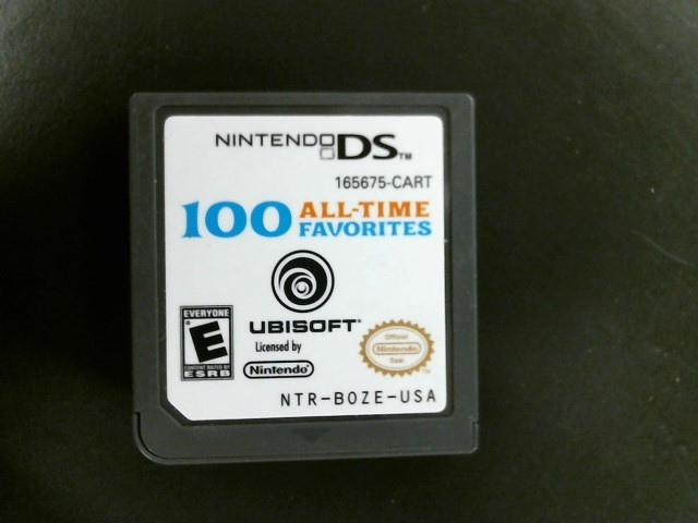 NINTENDO Nintendo DS Game 100 ALL TIME FAVORITES DS