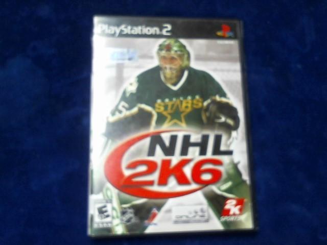 SONY Sony PlayStation 2 Game PS2 NHL 2K6
