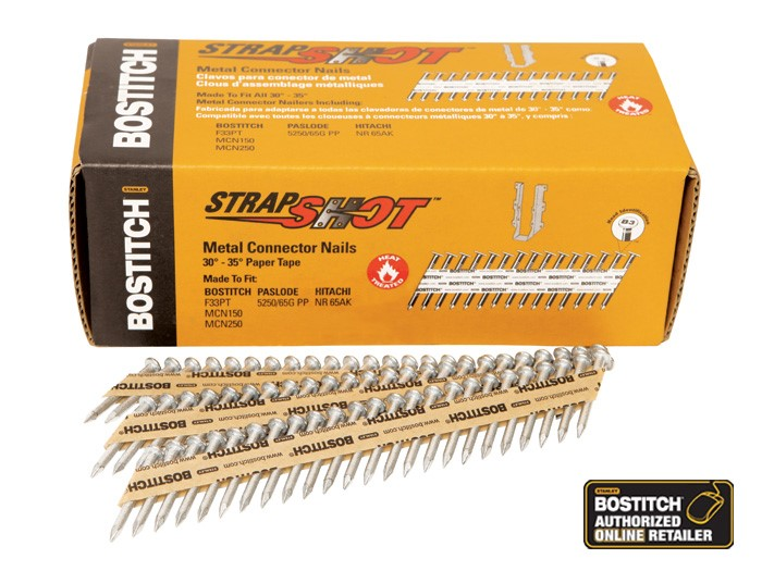 BOSTITCH STRAP SHOT NAILS
