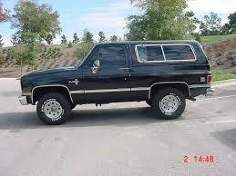 CHEVROLET Truck 1985 BLAZER