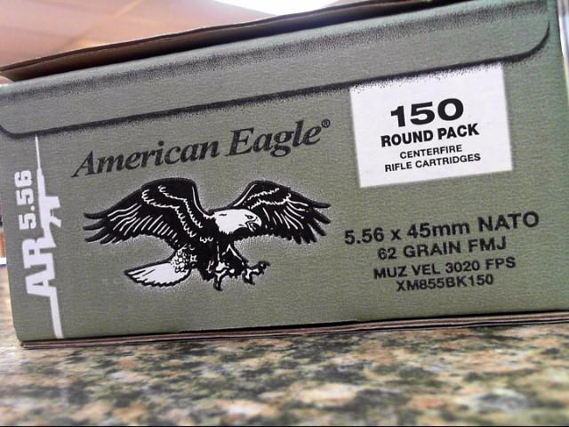 AMERICAN EAGLE 5.56 NATO 150 ROUND BRICK