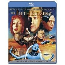 BLU-RAY MOVIE THE FIFTH ELEMENT