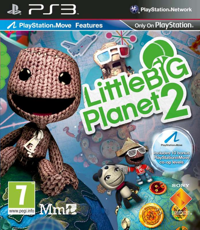 SONY Sony PlayStation 3 Game LITTLE BIG PLANET 2
