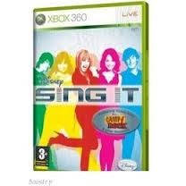 MICROSOFT Microsoft XBOX 360 Game DISNEY SING IT