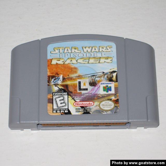 NINTENDO Nintendo 64 Game NINTENDO 64 STAR WARS EPISODE 1 RACER