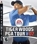 SONY Sony PlayStation 2 Game TIGER WOODS PGA TOUR 07