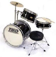 TKO Drum Set TKO99BK