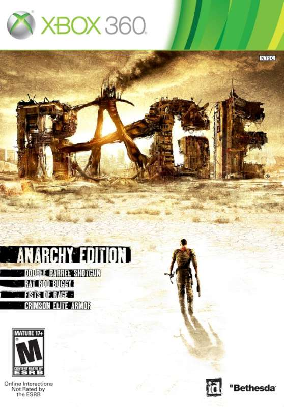 MICROSOFT Microsoft XBOX 360 Game RAGE ANARCHY EDITION