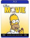 BLU-RAY MOVIE Blu-Ray THE SIMPSONS: MOVIE