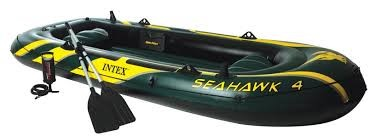 INTEX Water Sports SEAHAWK 4 INFLATABLE BOAT