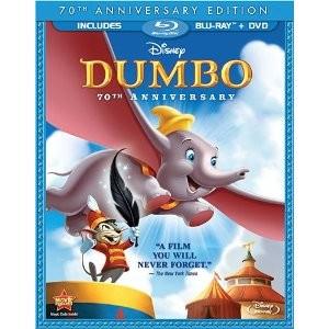 BLU-RAY MOVIE Blu-Ray DUMBO 70TH ANNIVERSARY
