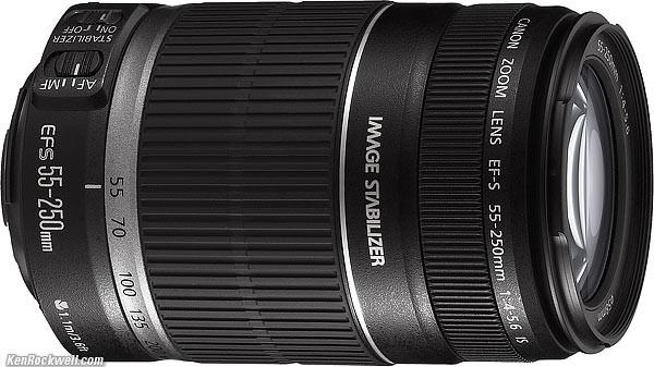 CANON Lens/Filter EFS 55-250MM