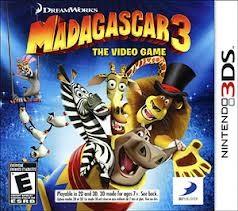 NINTENDO DS GAME MADAGASCAR 3 THE VIDEO GAME
