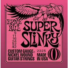 ERNIE BALL Musical Instruments Part/Accessory SUPER SLINKY 2223