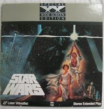 LASER DISC Laser Disk STAR WARS STEREO EXTENDED PLAY