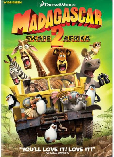 DVD MOVIE DVD MADAGASCAR 2 ESCAPE ARFICA