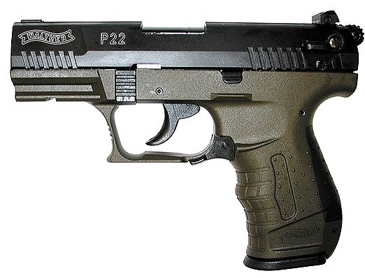 WALTHER ARMS Pistol P22 MILITARY