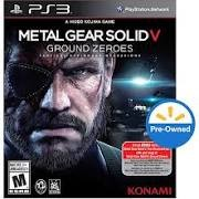 SONY Sony PlayStation 3 Game PS3 METAL GEAR SOLID V