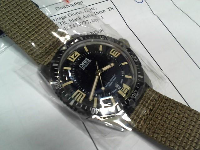 ORIS Gent's Wristwatch 0173377074064-07