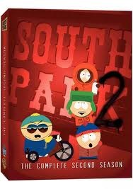 DVD BOX SET DVD SOUTH PARK SEASON 2