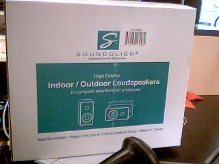 SOUNDOLIER Speakers AS115A-B