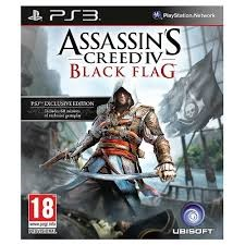 SONY Sony PlayStation 3 Game ASSASSINS CREED IV BLACK FLAG - PS3