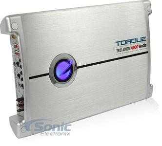 PLANET AUDIO Car Amplifier TORQUE TRQ1.4000D