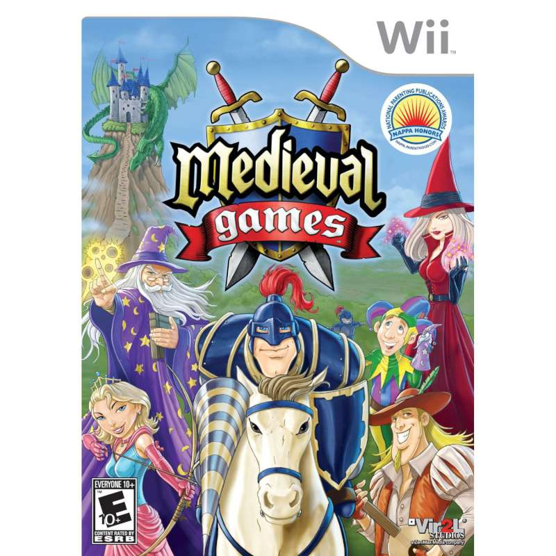 NINTENDO Nintendo Wii Game MEDIEVAL GAMES