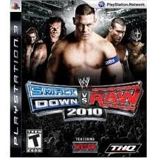 SONY Sony PlayStation 3 Game SMACKDOWN VS RAW 2010