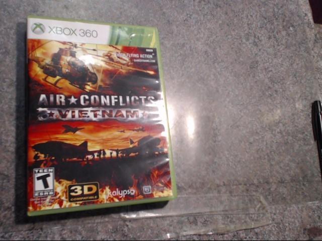 MICROSOFT Microsoft XBOX 360 Game AIR CONFLICT VIETNAM