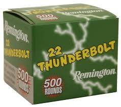 REMINGTON FIREARMS & AMMUNITION Ammunition .22 THUNDERBOLT 22 LONG RIFLE