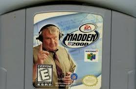 NINTENDO Nintendo 64 64 MADDEN 2000