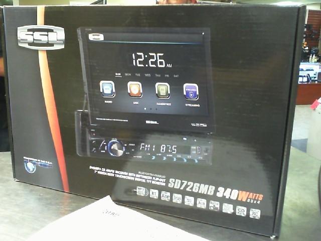 SSL EVOLUTION Car Audio SD726MB