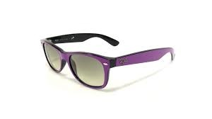 RAY-BAN Sunglasses RB2132 PURPLE WAYFARER SUNGLASSES